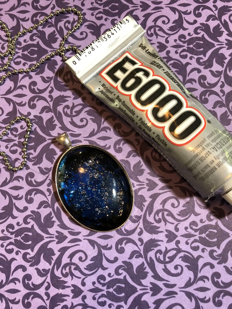 How to Make a Galaxy Necklace