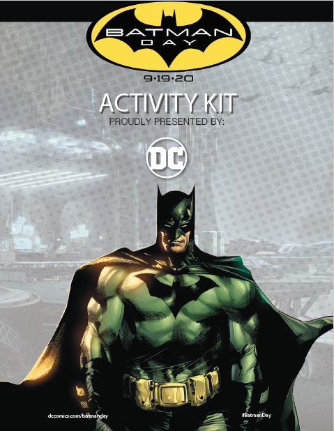 Batman Activity Book