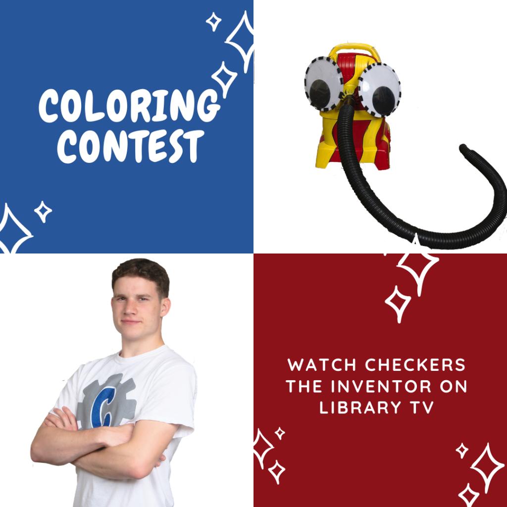CheckersTV Coloring Contest