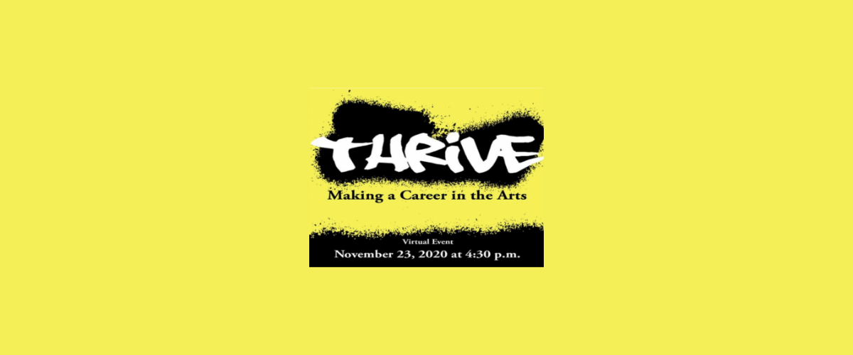 Thrive: Making a Career in the Arts