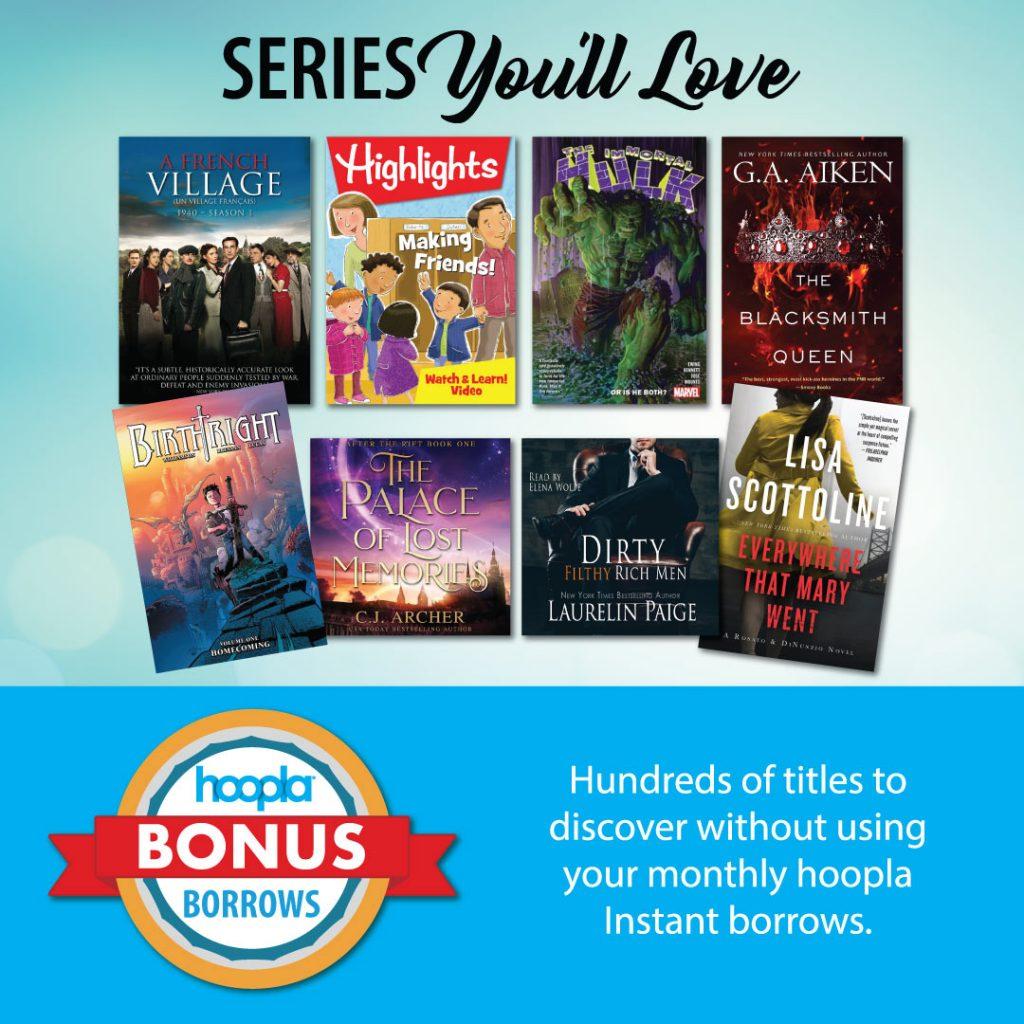 Hoopla Bonus Borrows
