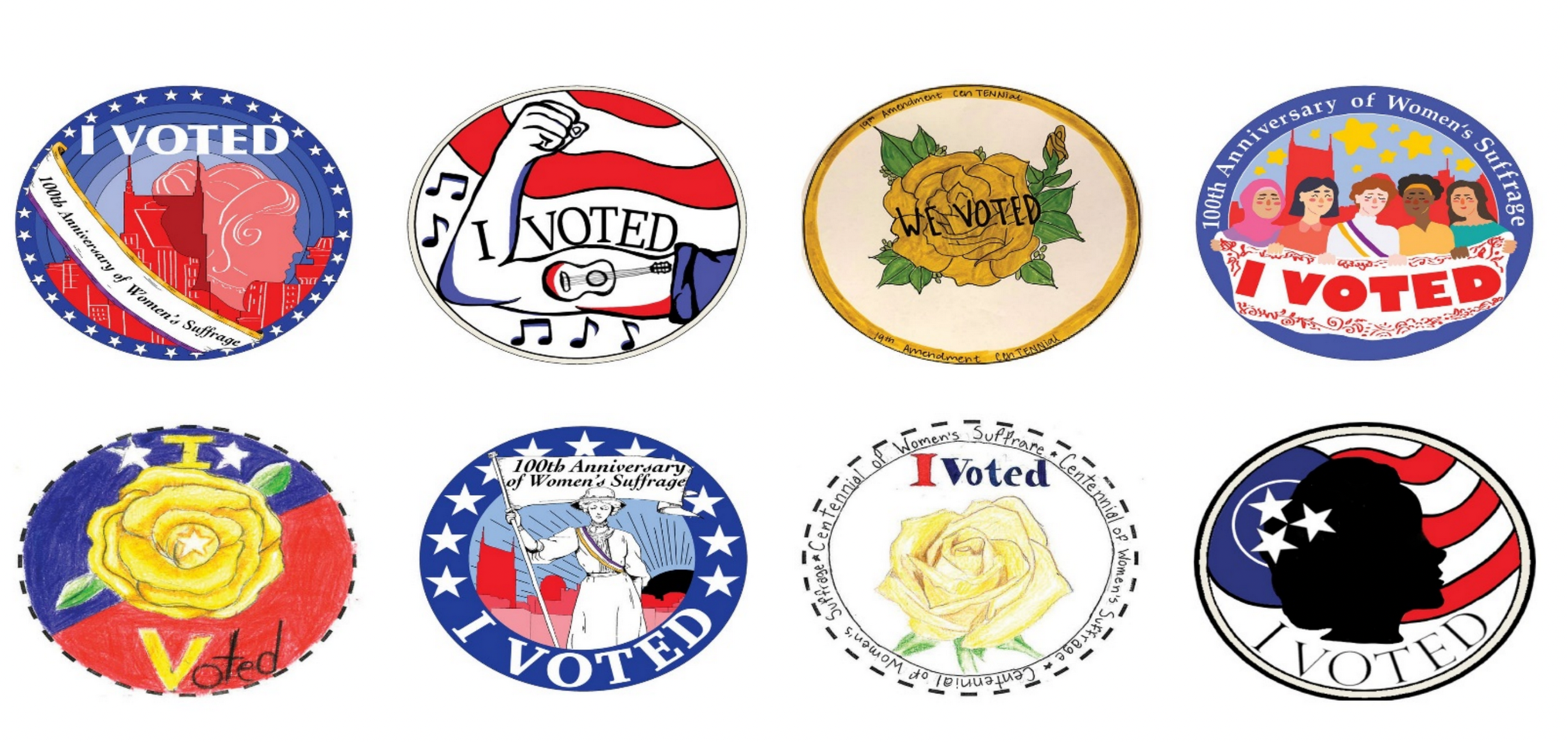 """I Voted"" Sticker Contest for Ulster Co. Students"